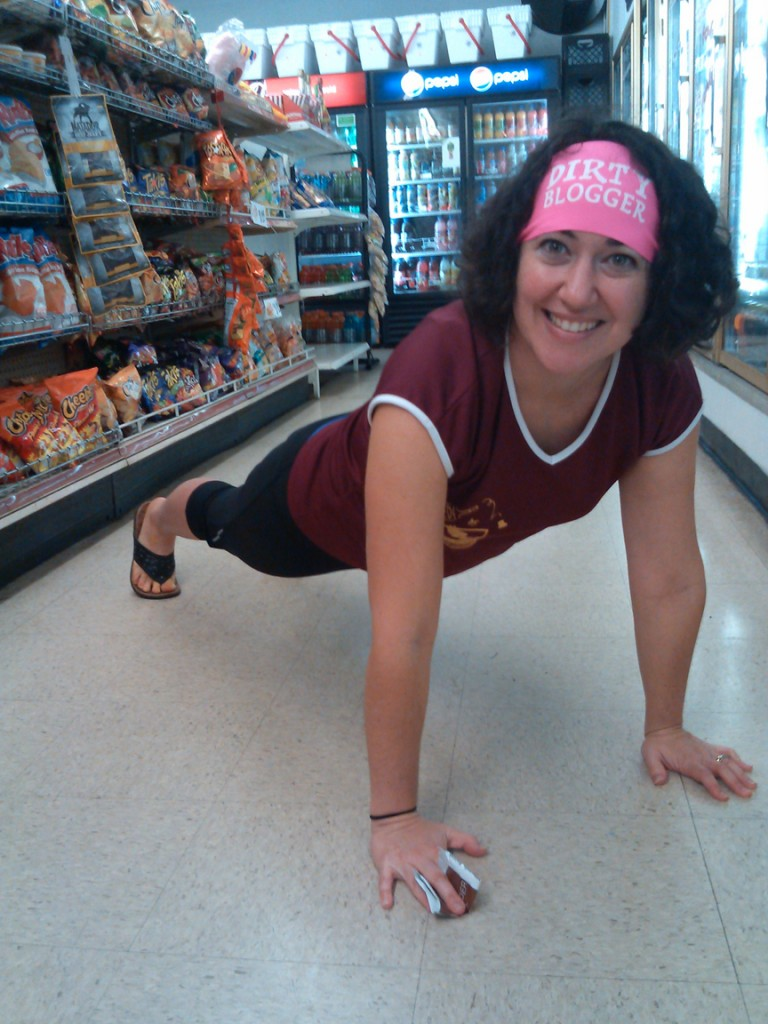 #plankaday in the gas station after the race