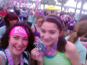 Me and Krystal at the finish