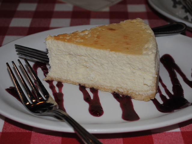fluffy perfect Tampa cheesecake