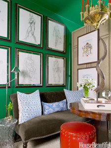 Would I dare do an emerald green wall?
