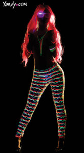 black light leggings