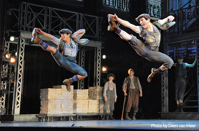 The amazing dancing you can expect to see in NEWSIES