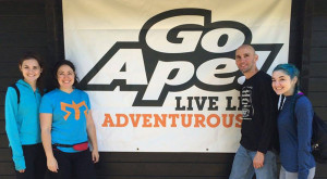 family adventure Go Ape