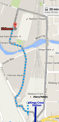 map to dishoom kings cross