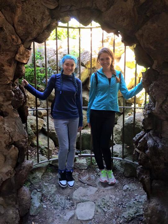 Grotto near Leeds castle