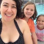 Jan 10 warm enough to swim with cousins
