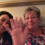 Jan 22 my mother in law saying hi to my daughters