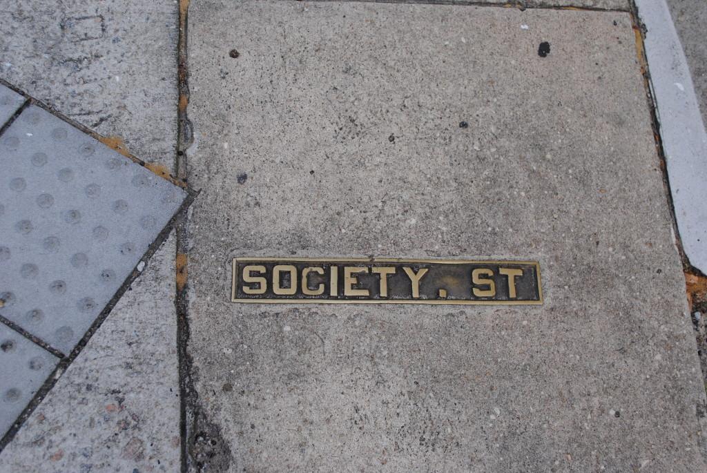 charleston sc society street