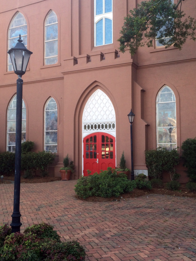 red church door charleston