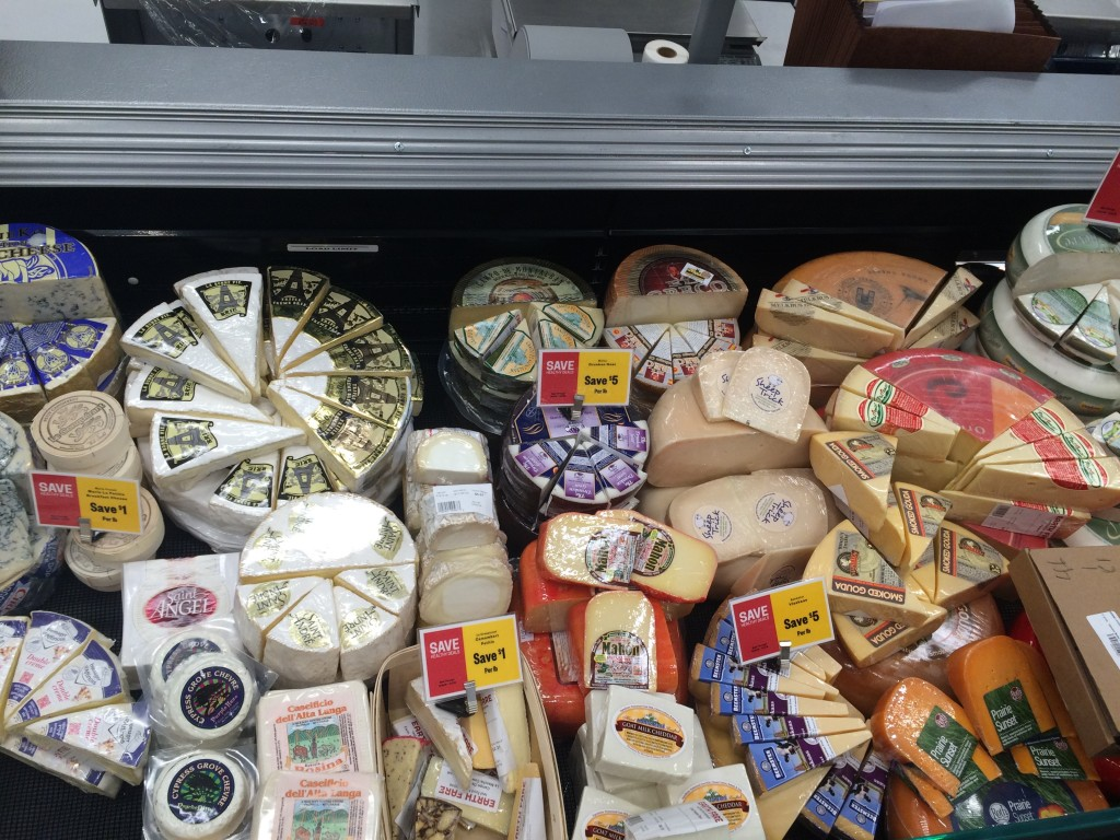 If there's a cheese you're not sure of, they'll let you try before you buy!