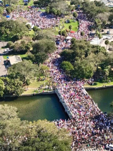 20,000+ people marched in St. Pete.