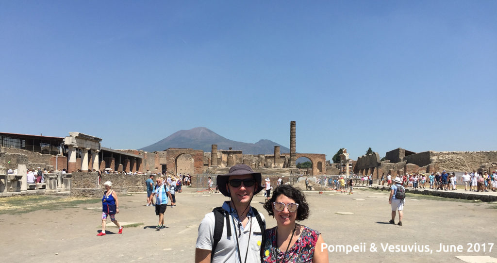 touring pompeii ruins from rome italy travel