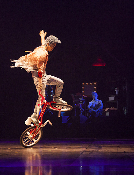 cirque bmx bike act
